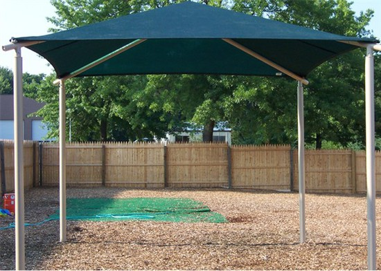 Shade Shelter - 20'x20', Square