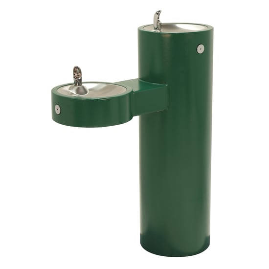 Stainless Steel Barrier-Free Bi-Level Fountain