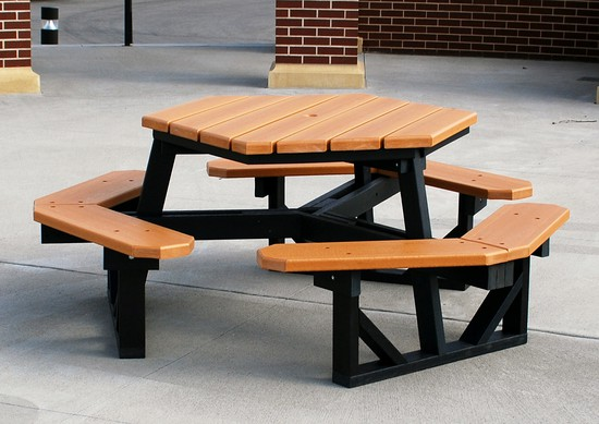 HDPE Hexagon Table