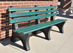 HDPE Deluxe Bench