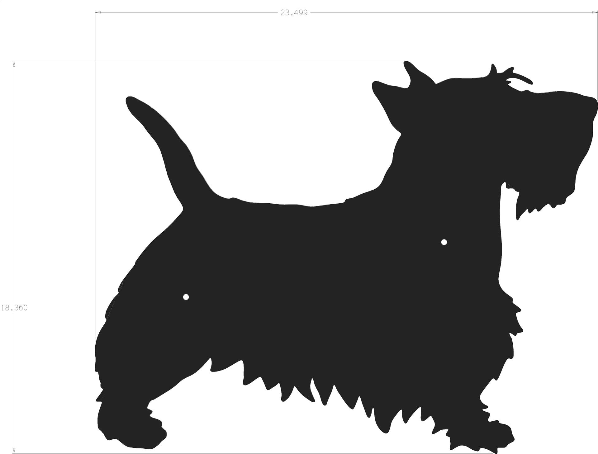 Dog Silhouette Scottie