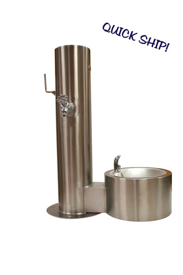 Deluxe Dog Watering Station