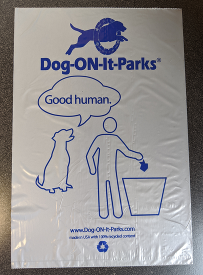 Good Human Roll Bags (100% recycled content) - Case of 2000