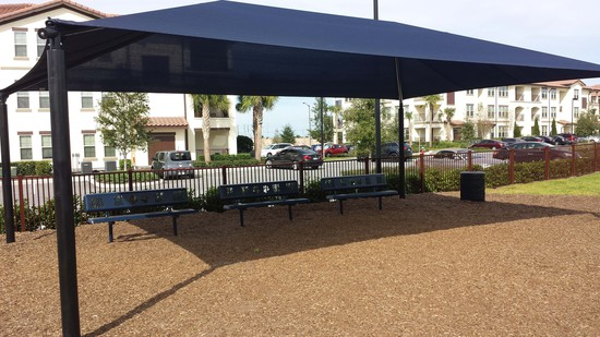 Shade Shelter - 30' x 20', Rectangle