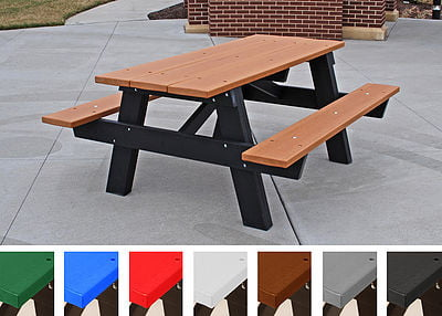 HDPE A-Frame Table