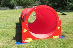 Classic Agility Equipment Double Bow Wow Barrel