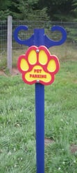 Pet Parking Post