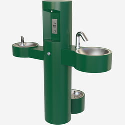Fountains & Water Features Hand Wash Station with Bottle Filler, Drinking Fountain and Pet Fountain