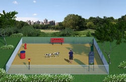 Dog Park Packages/Kits Basics Plus Amenities Package