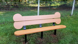 Biscuit Bone Bench