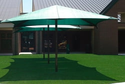 Shade Shelter, 12' Square