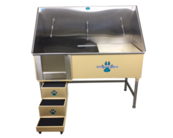 Elite Pet Wash Station w/ Plumbing Kit and Floor Grate