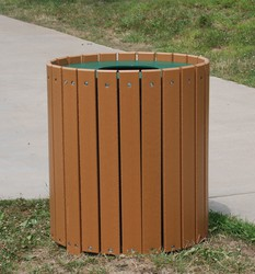 32 Gallon HDPE Waste Receptacle