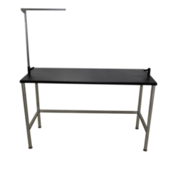Grooming Solutions Stainless Steel Stationary Grooming Table
