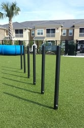 Agility Equipment Flexible Weave Poles